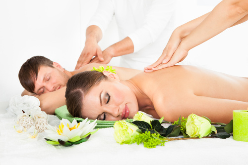 Partnermassage - Thaimassage